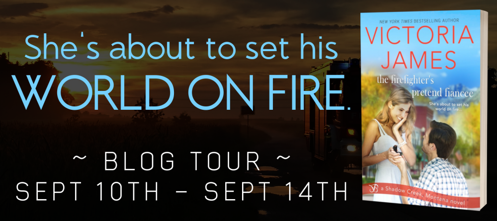 Tour Banner - The Firefighter's Pretend Fiance by Victoria James.png