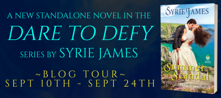Giveaway Excerpt Dare To Defy By Syrie James