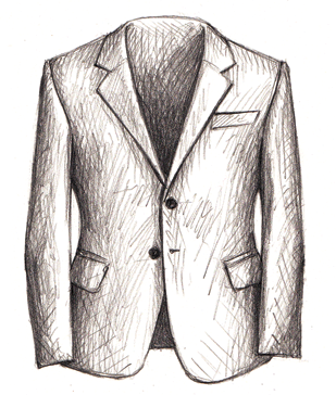 men's fashion illustration-sunflowerman