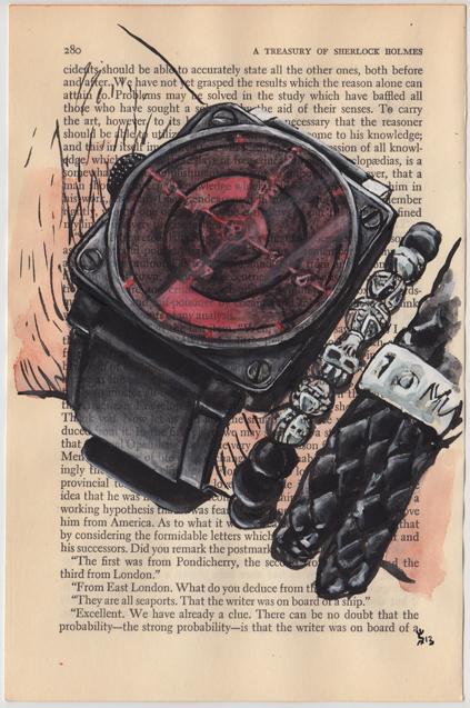 Rodolfo Suro- Bell & Ross Red Radar- Thomas Sabo Bracelets.jpg