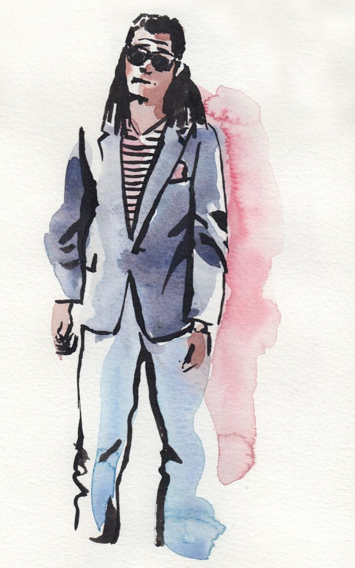 Dread Head Gentleman illustration 2