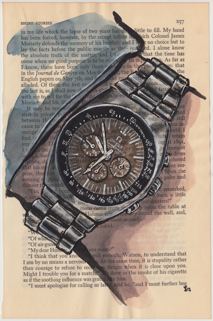 Rick Kenner- Omega Speedmaster Mark II Chocolate Gilt Dial- circa 1970.jpg