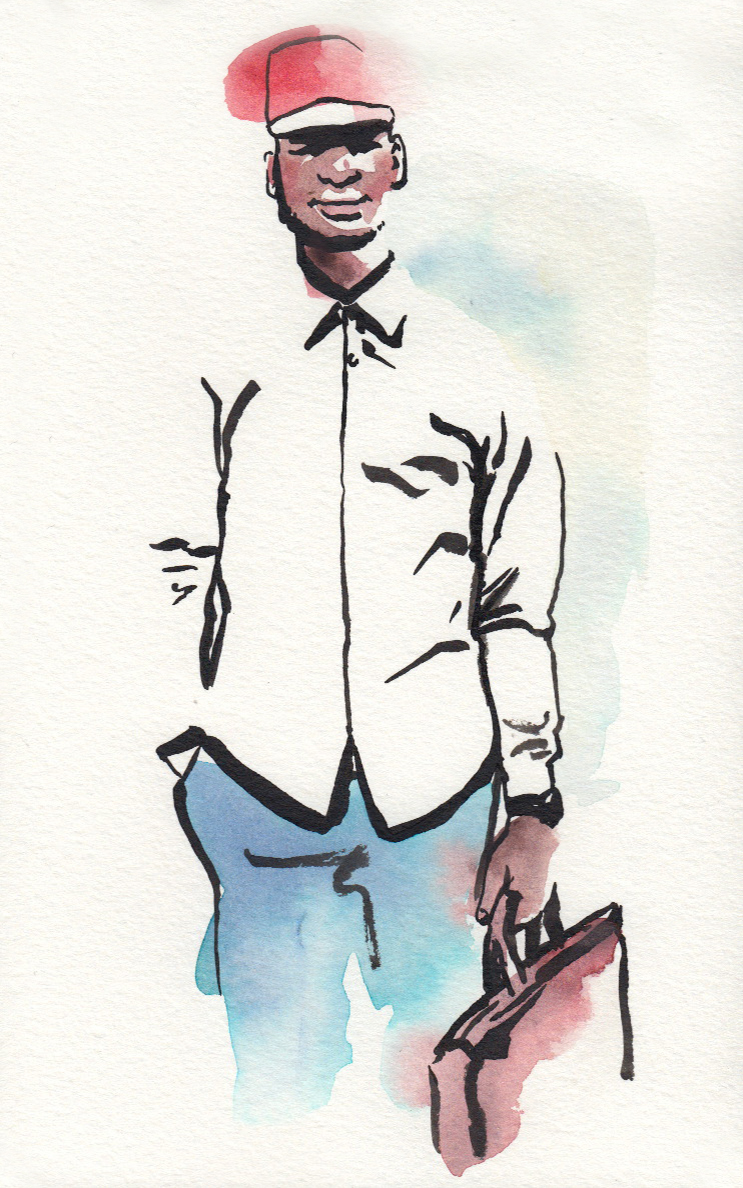 De'Andre Smith illustration 1