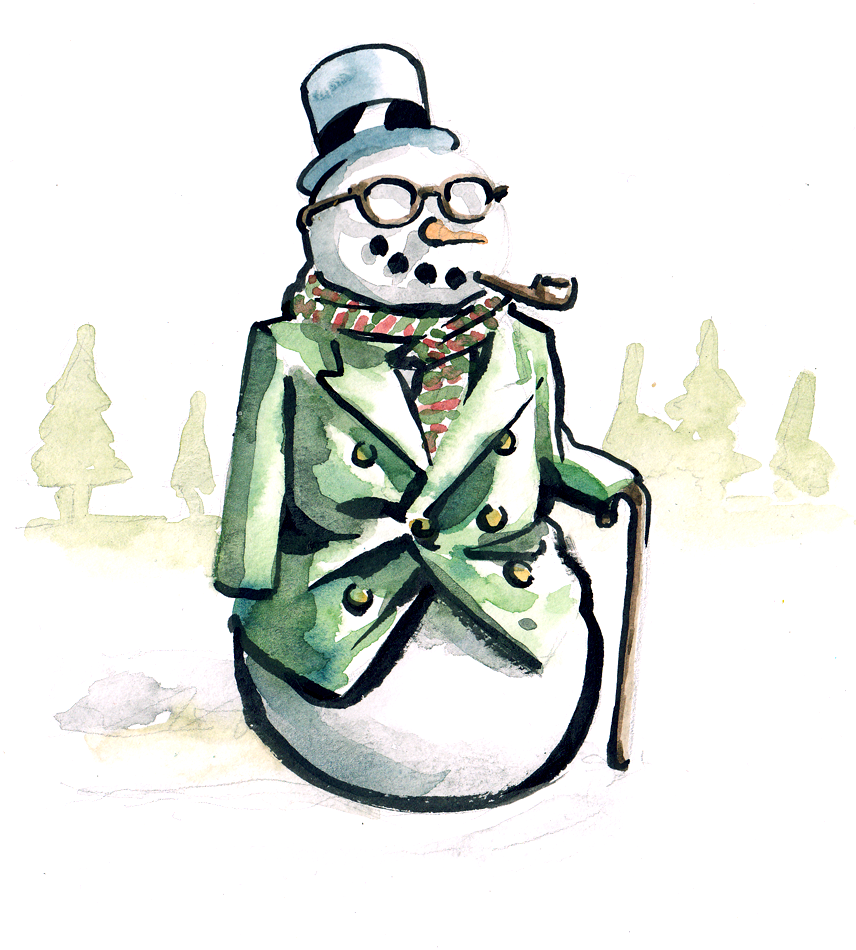 Dapper Snow Man.png