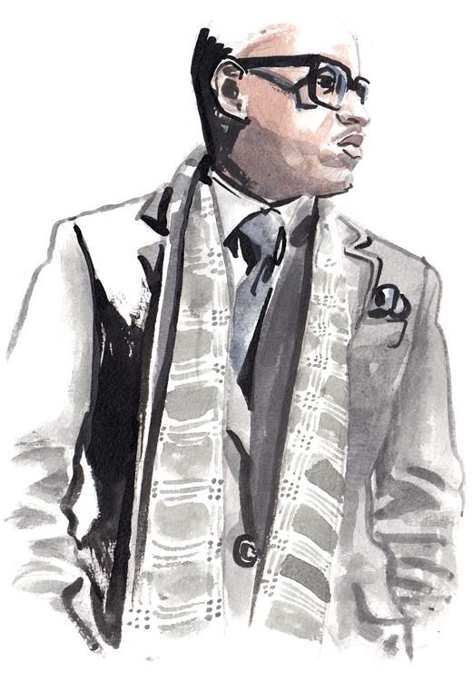 Daily Fashion Illustration 144, Marcus Foxx