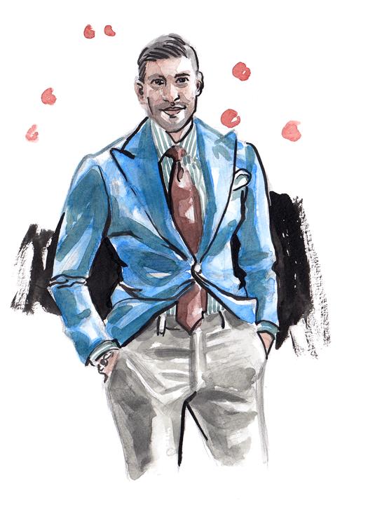 Daily Fashion Illustration 155, Khaled Nasr