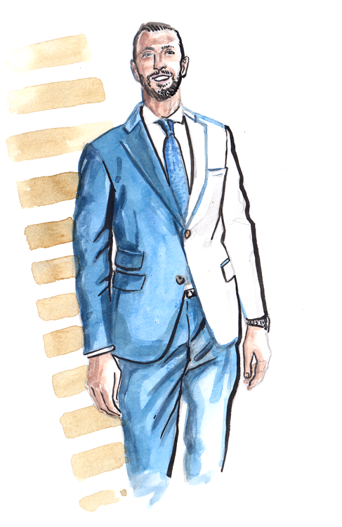 Daily Fashion Illustratino 160, Harris Davlas