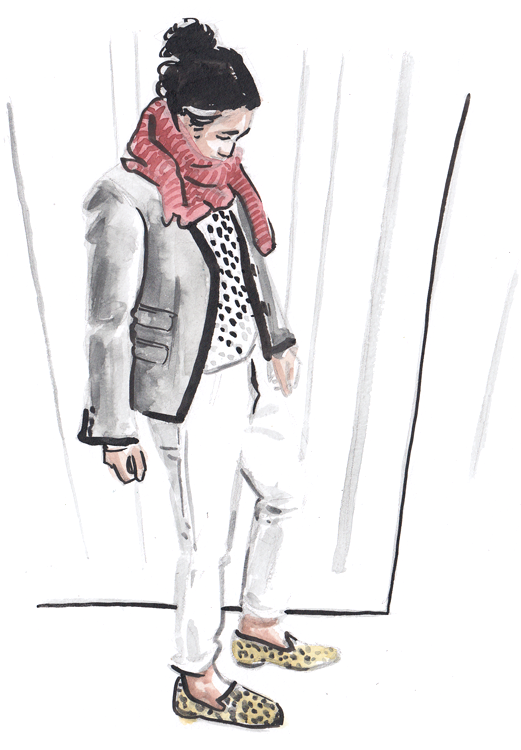 Daily Fashion Illustration 166, Lisa Chica