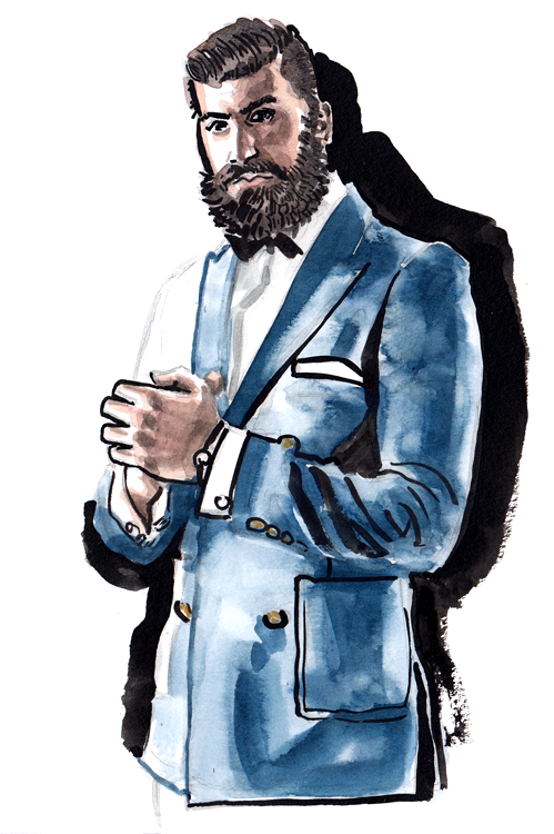 Daily Fashion Illustration 171, Rich Meles