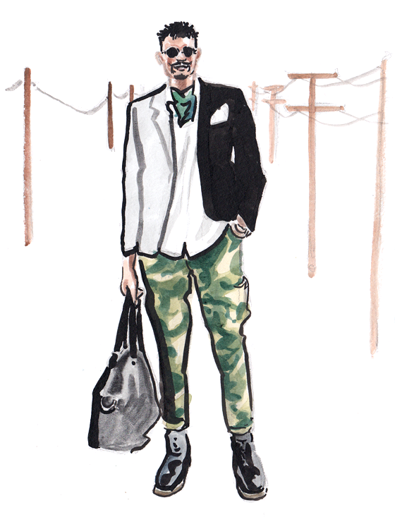 Daily Fashion Illustration 172, Vinnii Ray