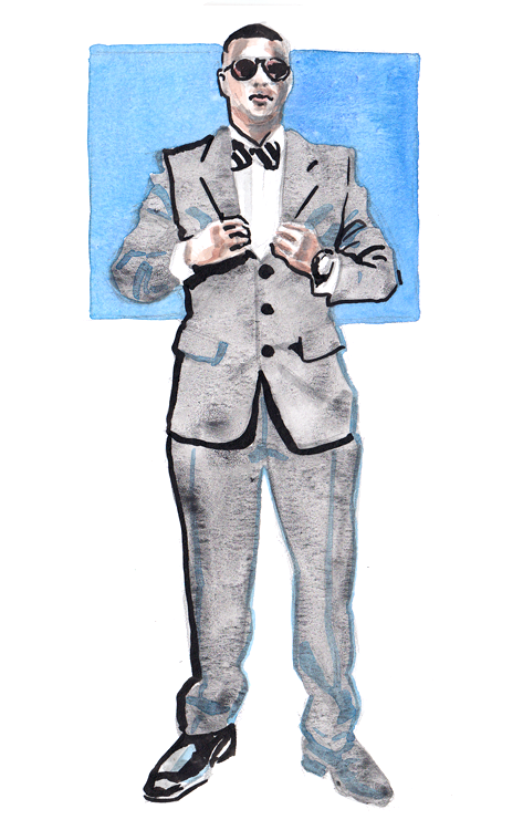 Daily Fashion Illustration 174, Rob Madden