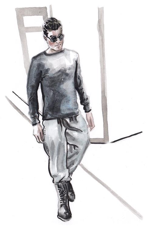 Daily Fashion Illustration 179, Juan Jose Rangel