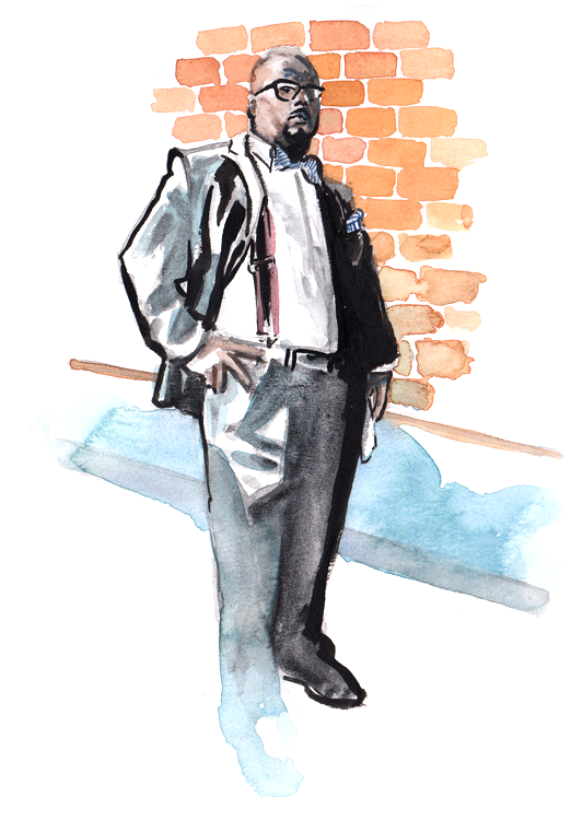 Daily Fashion Illustration 180, Brian Simpson