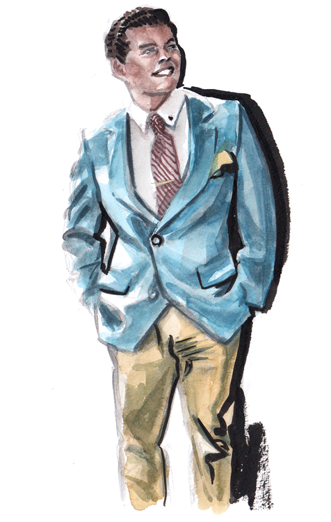 Daily Fashion Illustration 182, Juan Cortez