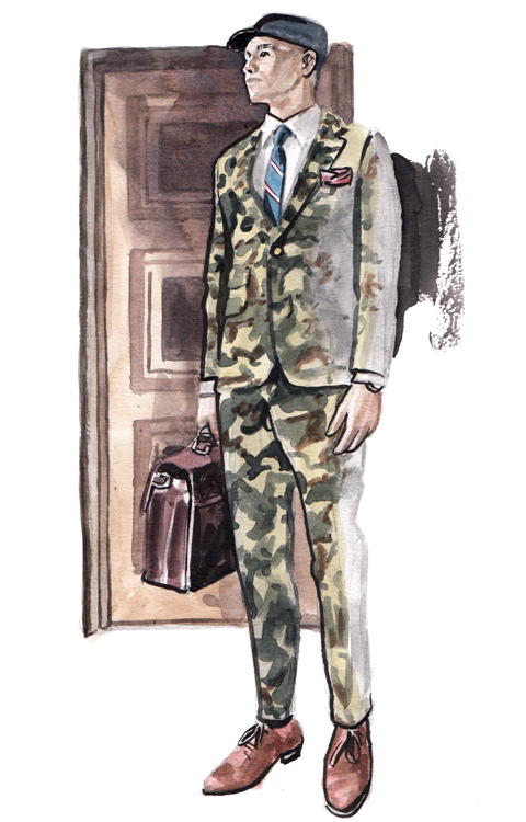 Daily Fashion Illustration 186, Wisith Jiengwattana