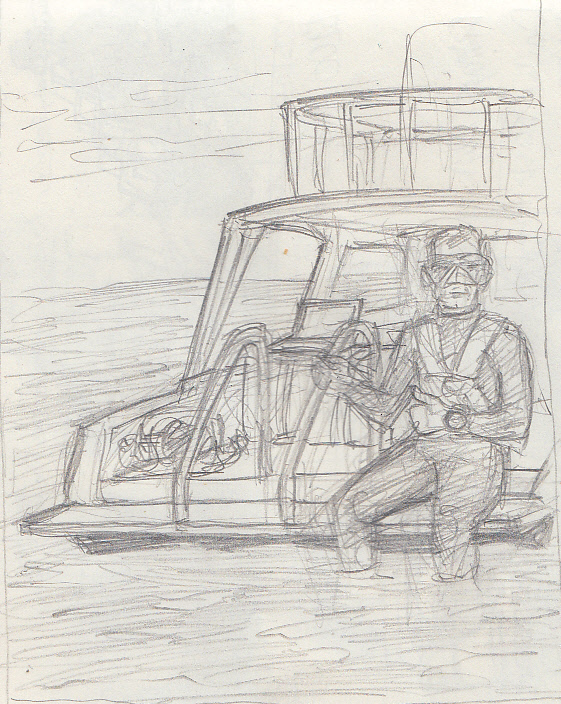 rough sketch for iW Magazine