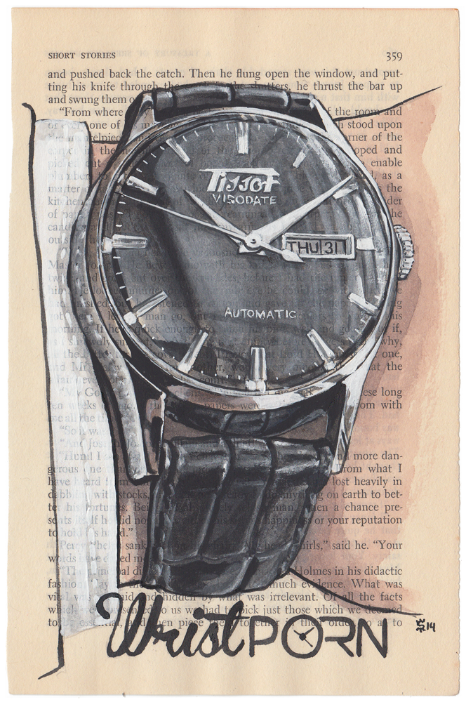 Wristport Tissot Visodate Watches Project Painting
