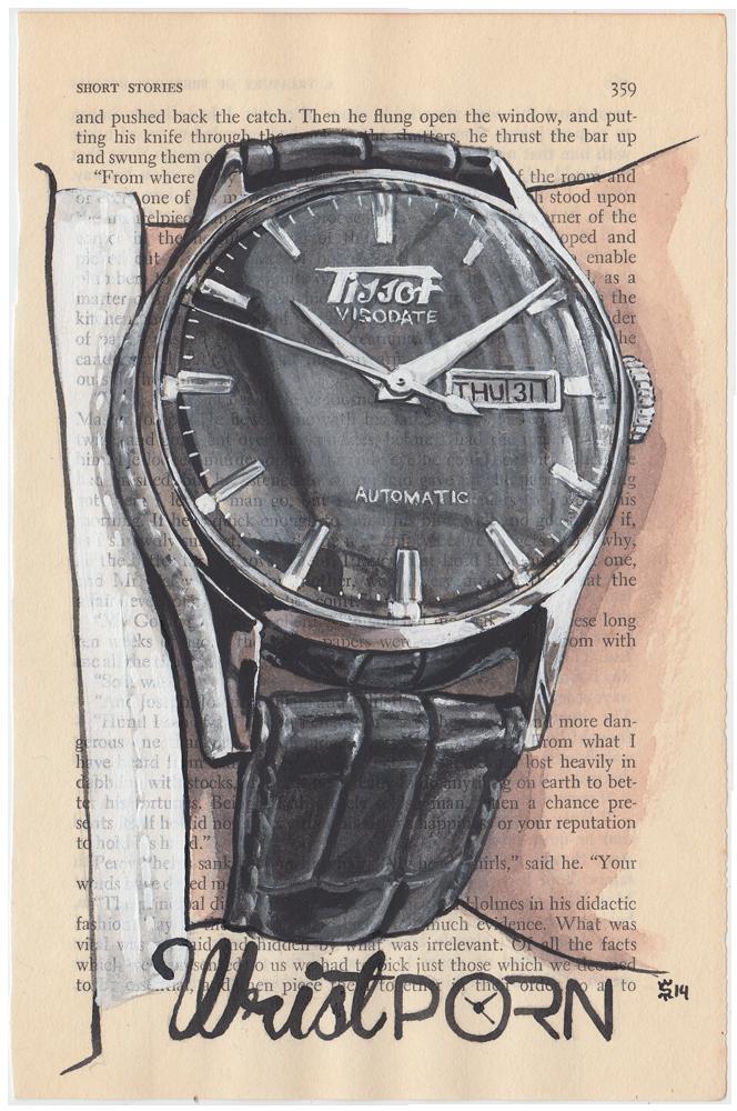 Wristport Tissot Visodate Watches Project Painting