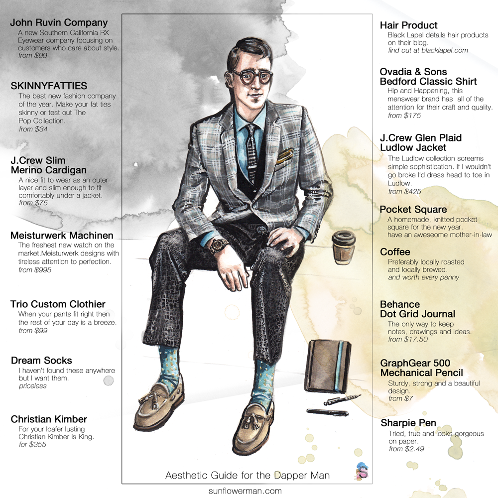 Aesthetic Guide for the Dapper Man