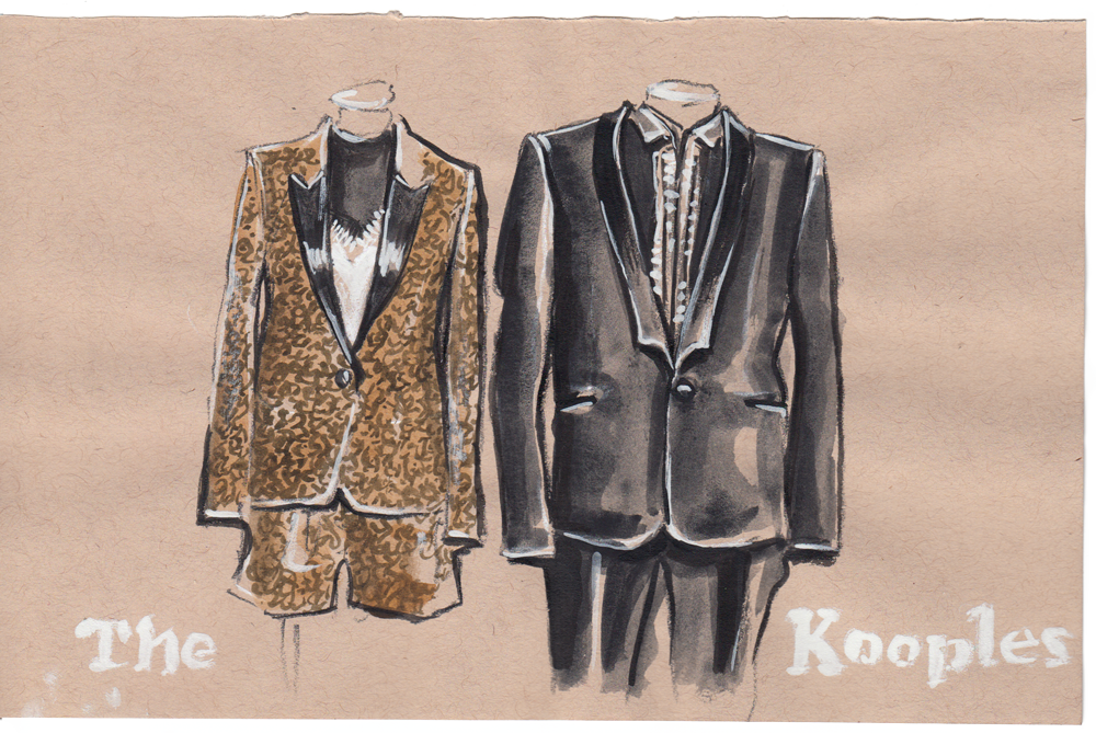 The Kooples fashion illustration, Project Show