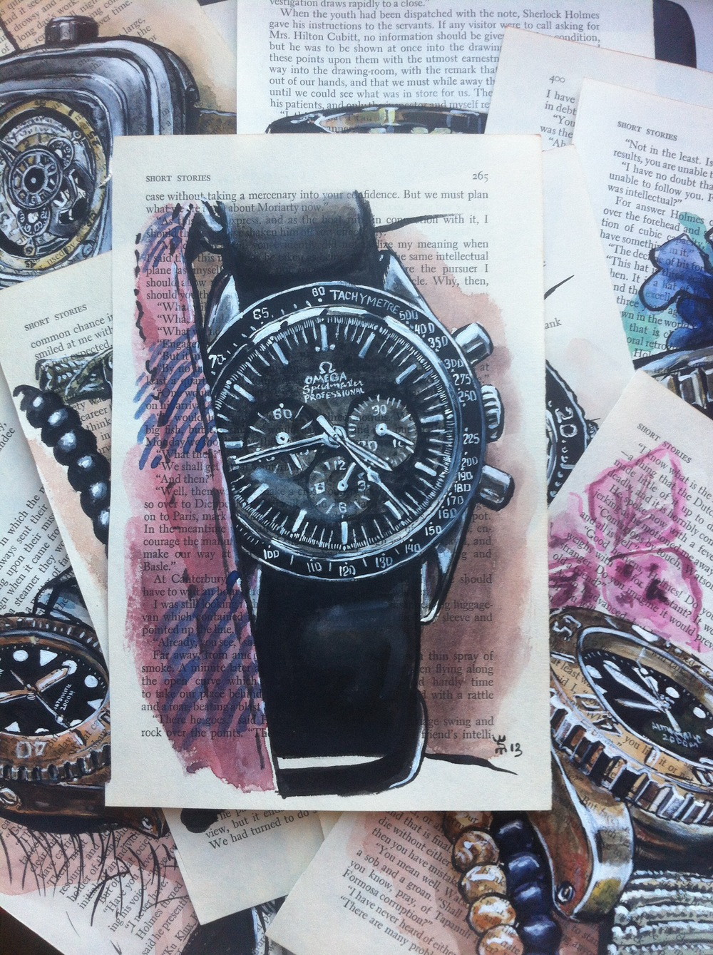 example of a photo of the 100 Watches Project on instagram...