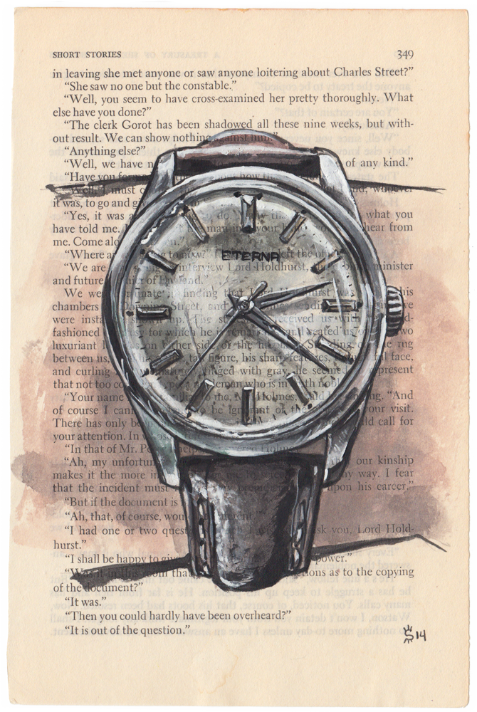 Eterna Watch Painting