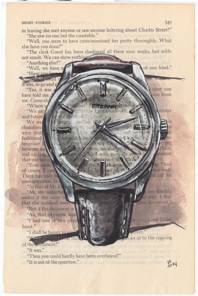 Eterna Watch Painting