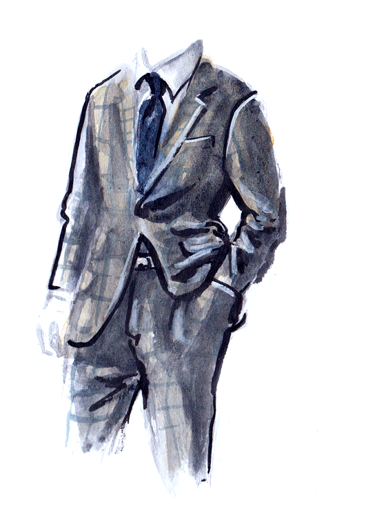Ludlow Collection fashion illustration