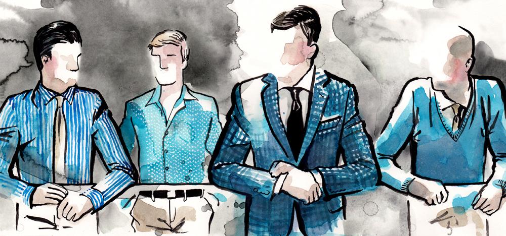 Ovadia & Sons Fall 2013 illustration