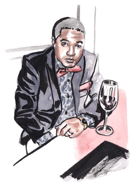 Daily Fashion Illustration Steve Spencer