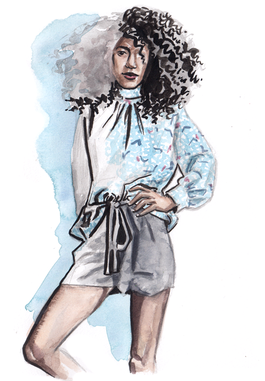 Daily Fashion Illustration Christiana Greene