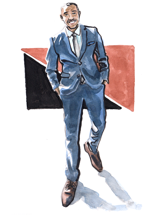 Daily Fashion Illustration Keith Nixon