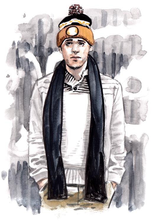 Daily Fashion Illustration Brian Ramos