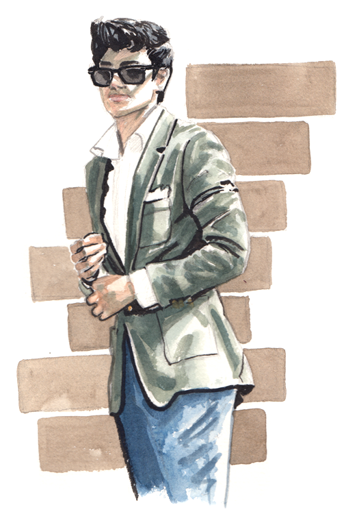 Daily Fashion Illustration Usaamah Siddique