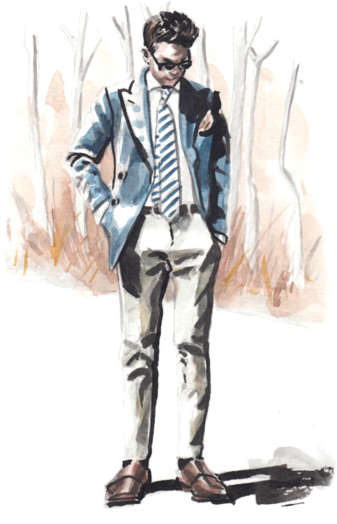 Daily Fashion Illustration Justin Perez