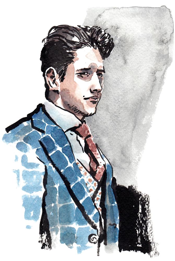 Daily Fashion Illustration, Krenar Havolli