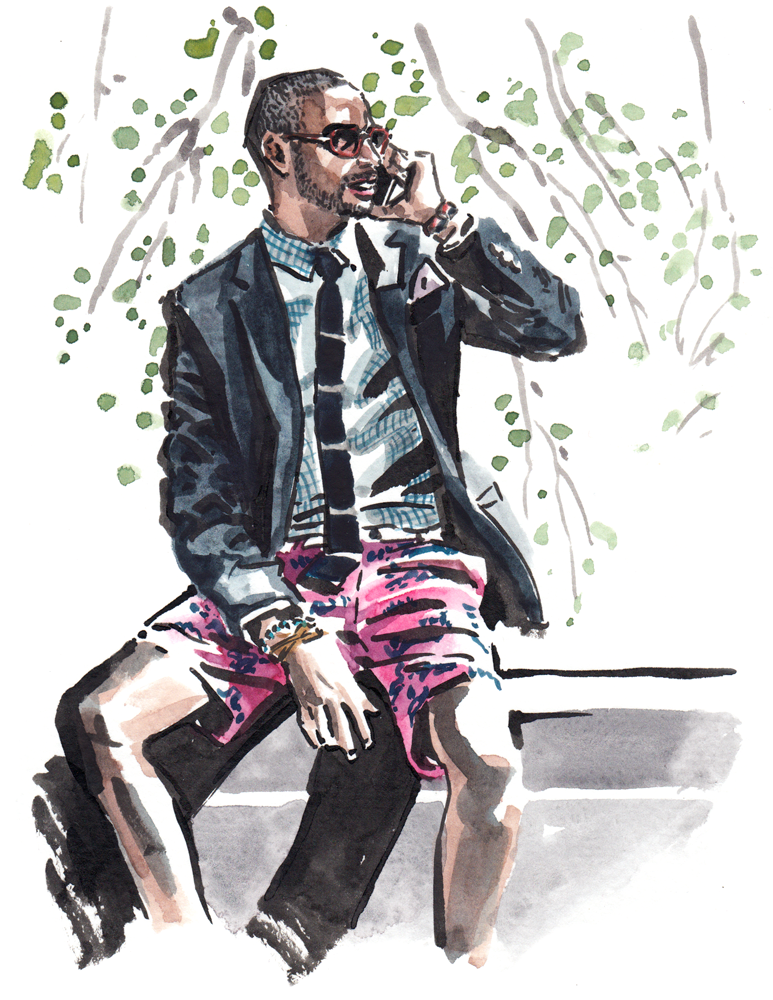 Daily Fashion Illustration, Kevin Gray