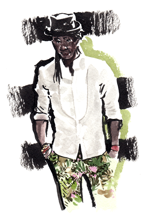 Daily Fashion Illustration Ron Bass