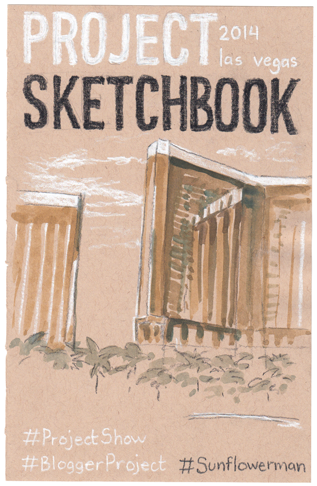 Project Sketchbook Cover Illustration