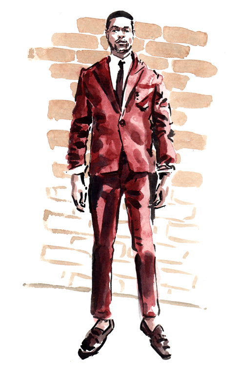 Daily Fashion Illustration, Arrington Crawford