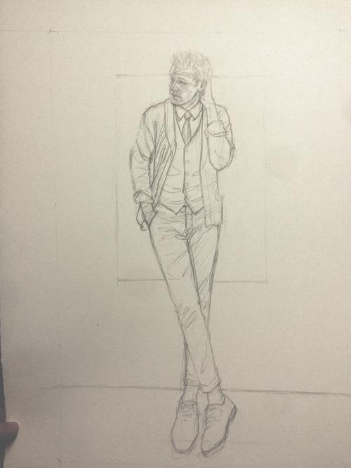 Perry Ellis Kirk Chambers Drawing 1