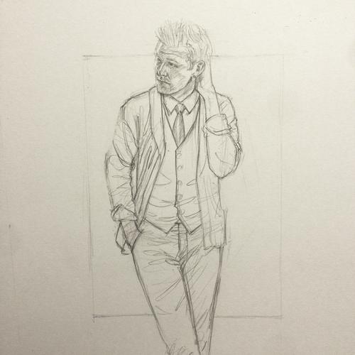 Perry Ellis Kirk Chambers Drawing 2
