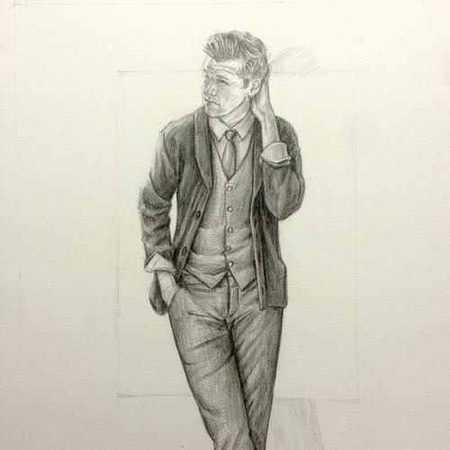 Perry Ellis Kirk Chambers Drawing 5