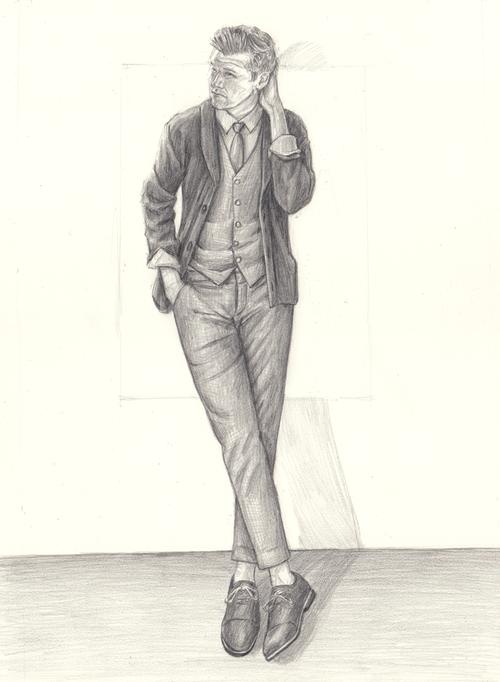 Perry Ellis Kirk Chambers Drawing