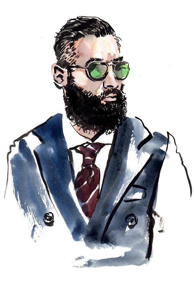 Eli Infante illustration