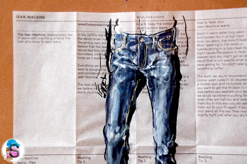 Jean Machine Fashion Illustration