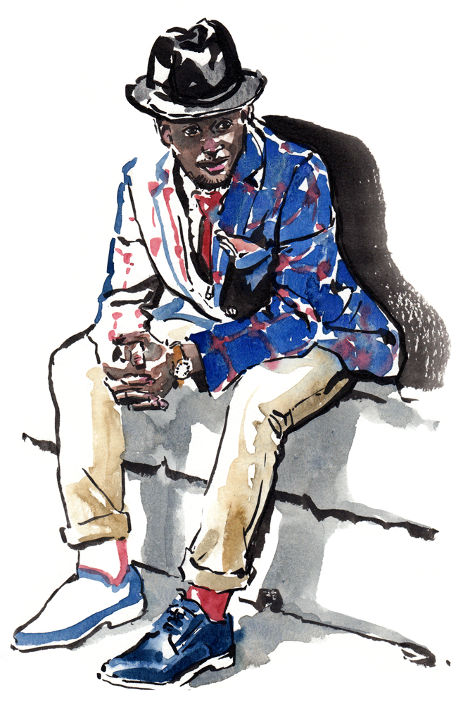 Steven Onoja fashion illustration