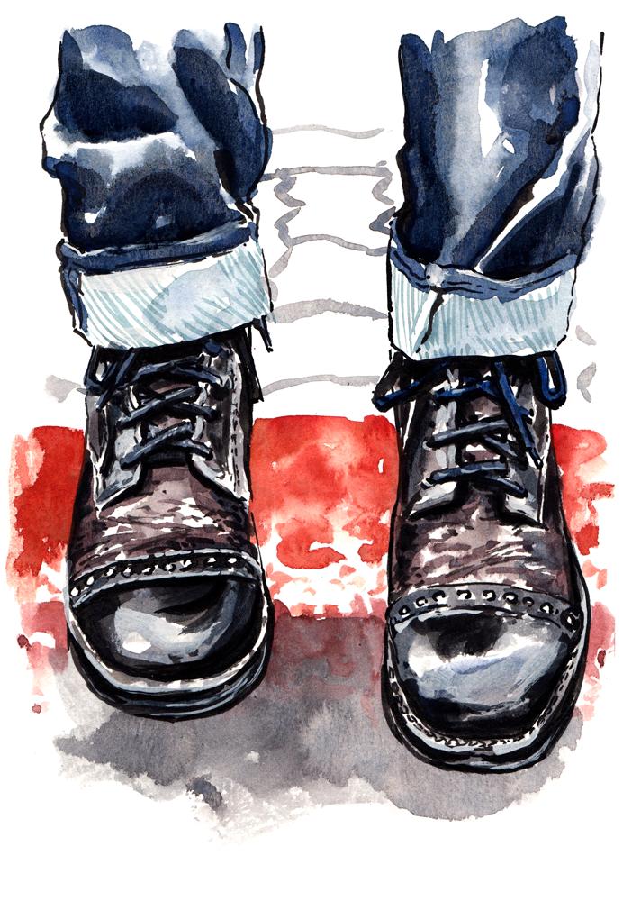 Bedstu Declaration boots.