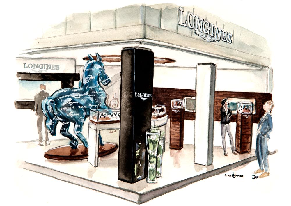 Longines Booth