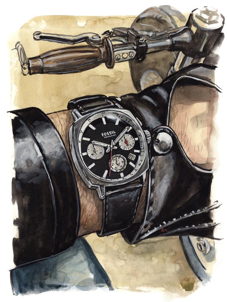 Haywood Watch painting